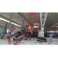 Hydraulic river digging dredger, cutter suction dredger