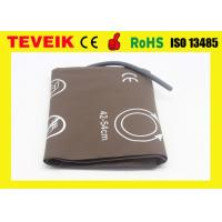 Quality M1576A PU material  Blood Pressure Cuff  for Adult Thigh , Single Hose for sale