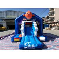 Wholesale Bouncy Castle With Slide Combo Jumper For Inflatable Games from china suppliers