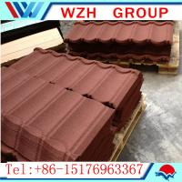 Wholesale colored Stone coated roofing tile from china suppliers