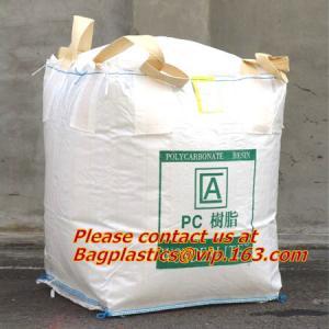 Buy cheap 100% PP Woven FIBC Jumbo Bags for Sand, fibc bulk bag with four loop bags, big jumbo bag, Cheap china fibc big bags from wholesalers