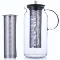Wholesale 1.5L glass high borosilicate coffee maker coffee pot from china suppliers