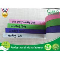 Wholesale Colored Crepe Paper without Residue Rubber Masking Tape 30m 48m Length from china suppliers
