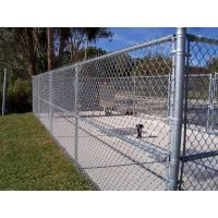 Quality cheap galvanzied chain link fence price/PVC coated chain link fence for sale