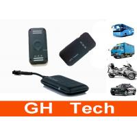 Wholesale Waterproof Car GPS Tracker System , Relay Car Control Quad Frequency Vehicle Tracker from china suppliers
