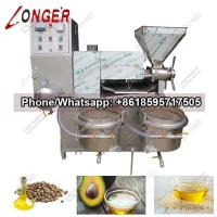 Wholesale Factory Price Automatic Screw Peanut Almond Press/Extractor Machine|Avocado Oil Extracting Machine from china suppliers