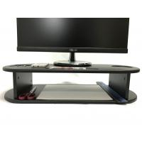 Quality Oval Shape Computer Monitor Riser Customized Color With Cut - Out Slots for sale