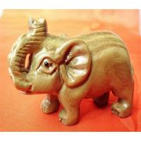 Boxwood carved elephant of hywallboxes com