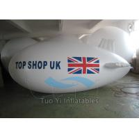 Wholesale Waterproof PVC Visibility Advertising Zeppelin / Helium Blimp Balloon Durable from china suppliers