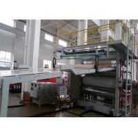 Wholesale PVC Artificial Marble Sheet Extrusion Line , Wall Panel Production Line for Interior Decoration from china suppliers