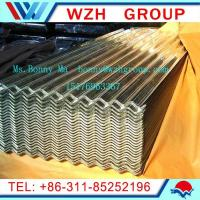 Wholesale 0.13-0.5mm  900mm galvanized corrugated steel sheet as roofing materials from china suppliers