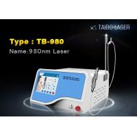 China 15W 980 nm Diode Laser Vascular Spider Vein Redness Removal Equipment wholesale