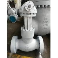Wholesale Cast Steel WCB Globe Valve Presure Seal Bonnet,Plug Disc Flanged Connection,1500lb from china suppliers
