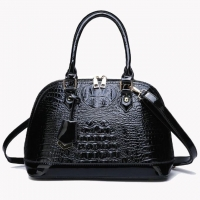 Wholesale Lady'S Crocodile Single Shoulder PU Handheld Shell Bag from china suppliers