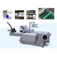 China Pharmaceutical Package Blister Cartoning Machine For Puch , Injection , Medicine on sale