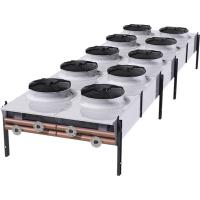 Wholesale double row sea water liquid to air heat exchanger dry cooler for steel factory cooling from china suppliers