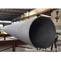 Quality ISO 304H Welded Stainless Steel Tube / ERW Pipe Surface Annealed & Pickled for sale