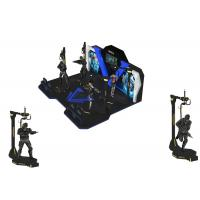 Wholesale Theme Park Virtual Reality Walking Platform Interactive Games With 360 ° Rotation from china suppliers