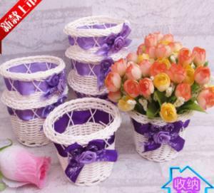 China Rattan Flower Basket/Holder wholesale