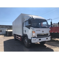 Wholesale Howo 6 Light Duty Commercial Trucks With Closed Box 3 Ton from china suppliers