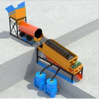 Wholesale Gold Washing Plant Alluvial Placer Ore Dressing Equipment from china suppliers
