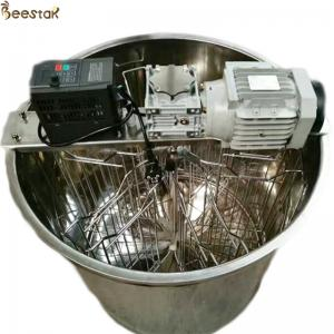Wholesale 6 frame radial honey extraction machine beekeeping electric Horizontal motor Stainless Steel Honey Extractor from china suppliers