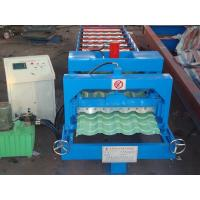 Wholesale Trapezoidal Roofing Corrugated Sheet Roll Forming Machines for color steel sheet from china suppliers