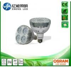 China AC220V AC110V dimmable 40W E27 led par30 light  led par30 lamp with OSRAM 3030 leds  Replace 70W metal halide on sale