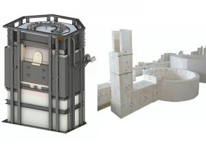 Wholesale High Quality Electricial Heating Type Electric Glass Furnace from china suppliers