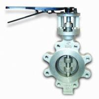 Wholesale 60 Inch Stainless Steel Butterfly Valve BS 5155 Metal Seated Butterfly Valves from china suppliers