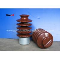 IEC Standard Electrical Porcelain Insulators , 27KV Pin Post Insulator