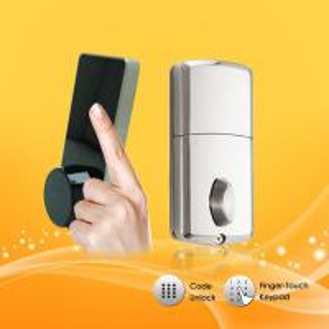 Wholesale Durable Password Door Lock , App Controlled Door Lock With Emergency Mechanical Key from china suppliers