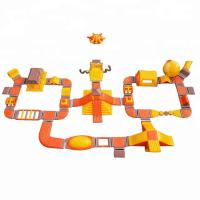 China Giant Adult Inflatable Amusement Park / Inflatable Floating Water Park on sale