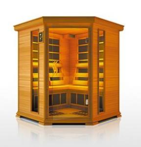 Deluxe infrared sauna room