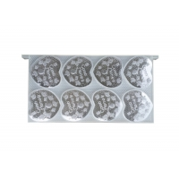 Wholesale Heart-Shaped Honey Comb Set Plastic Honey Comb Box Container for Beekeeping from china suppliers