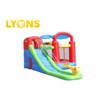 Wholesale Safety Children Inflatable Bounce House With Slide , 3 Years Warranty from china suppliers
