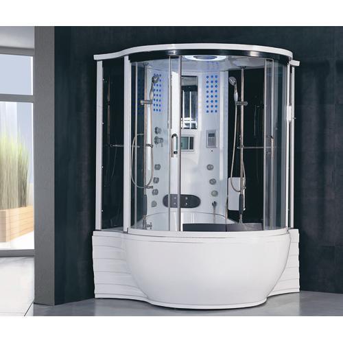 whirlpool steam shower bath sauna spa hot tubs showers of cherion 1630mm x 1630mm corner whirlpool steam shower bath