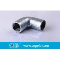 Wholesale BS4568 Conduit Fittings 25mm  Malleable Iron Solid Elbow , 90 Degree Pipe Bent from china suppliers
