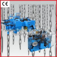 China Chain bending and welding machine for making lashing chain on sale