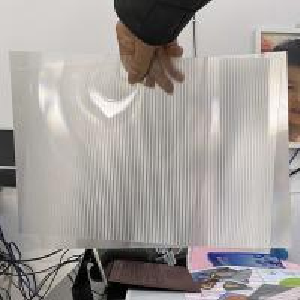 Wholesale Super transparency lenticular sheet clear PET Lenticular 75 lpi lens sheet 3D flip lenticular lens sheet from china suppliers