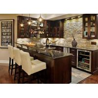 Buy cheap Natural Marble Eased Edges Custom Bar Countertops For Home Kitchen from wholesalers
