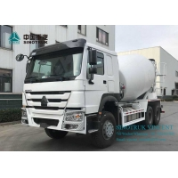 Wholesale ZZ1257N3841W EURO 4 380HP 6X4 3830mm Concrete Mixer Truck from china suppliers