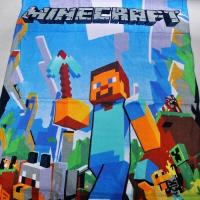 70*140cm 100% Cotton Minecraft Bath Towel Beach Towel Swimming Towel