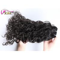 Soft Smooth Indian Virgin Hair , Human Hair Indian Remy Curly Weave For Women