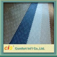 Wholesale Classical Color Embossed Pvc Automobile Upholstery Leather Fabric 0.6 - 1.2mm Thick from china suppliers