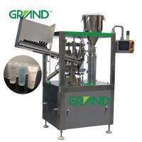 Wholesale Soft Tube Filling Sealing Machine Vertical Cosmetics Ointment Plastic ZHY-YP60 from china suppliers