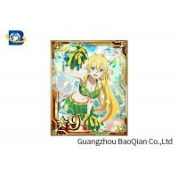 Wholesale Cartoon 3D Lenticular Card , Waterproof 3D Game Card 4C UV Printing 7X9CM Size from china suppliers