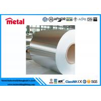 Quality Hot / Cold Rolled Steel Plate Coil SGCC 18 Gauge Sheet Metal 500 - 2100mm Dia for sale