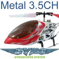 Newest Toy Helicopter - 3.5 Channel Metal Mini RC Helicopter Toy