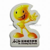 Wholesale Fridge Magnet for Promotional Gifts, Eco-friendly, Made of 157gsm Art Paper with Lamination from china suppliers
